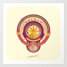 Spirit Seeker. Art Print