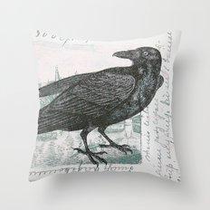Raven of Marburg - Square Throw Pillow