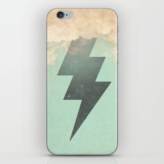 Bolt from the Blue iPhone & iPod Skin