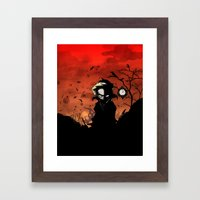You Have Thirteen Hours  Framed Art Print