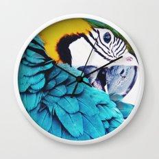 Parrot Life Wall Clock