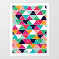 Love Triangle Art Print