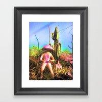Teonanakah 2 Framed Art Print