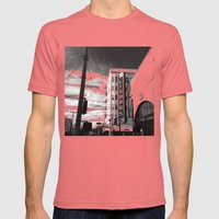 Inner Liquors Black & Wh… Mens Fitted Tee Pomegranate SMALL