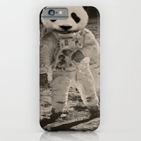 iPhone & iPod Case featuring One Small Step For Man, One Giant Panda For Mankind by Baruthius