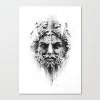 King Of Diamonds Canvas Print