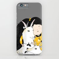 Capricia With Goats iPhone 6 Slim Case