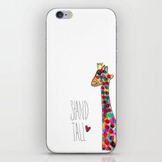 .giraffe. iPhone & iPod Skin