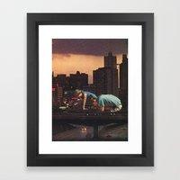 Atlanta Framed Art Print