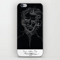 edgarBlack iPhone & iPod Skin