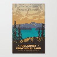 Killarney Park Poster Canvas Print