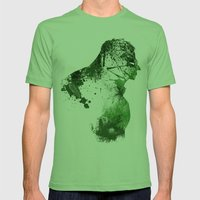 Irritated Mens Fitted Tee Grass SMALL