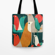 Flock of Birds Tote Bag