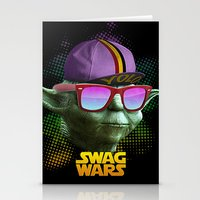 Yoda Swag Stationery Cards