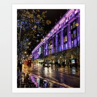 Selfridge's Sparkle Art Print