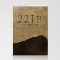 No. 6. 221B Stationery Cards