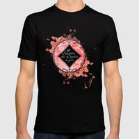 L'univers Mens Fitted Tee Black SMALL