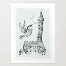 Art Print - 'Tower' - Alex G Griffiths