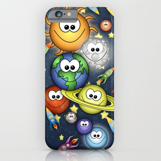 Solar Spaced Out. iPhone & iPod Case