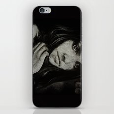 Charcoal experiment #5 iPhone & iPod Skin