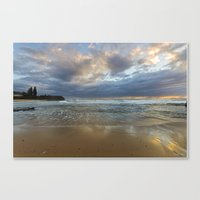 Reflections On The Shore… Canvas Print
