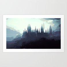 Harry Potter - Hogwarts Art Print