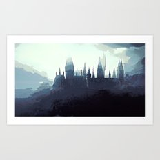 Harry Potter - Hogwarts Art Print