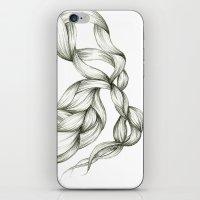 Whimsical Braids iPhone & iPod Skin