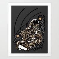 Full Throttle Art Print