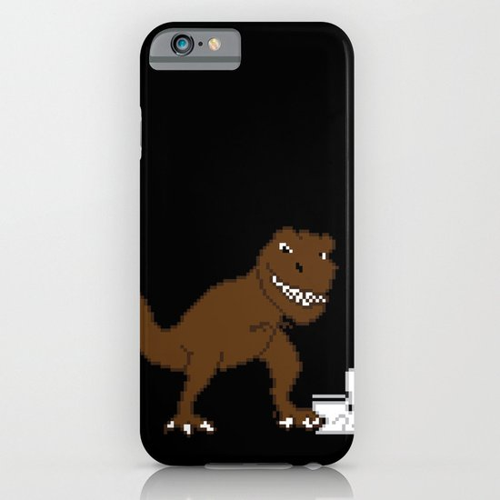 Jurassic Pixel iPhone & iPod Case