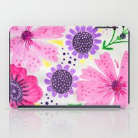Pinks - Botanical Flower… iPad Case