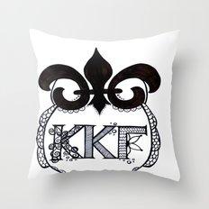 Owl2 Throw Pillow
