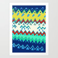 Rad Pattern Art Print