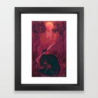 Jane Of The Jungle  Framed Art Print