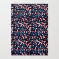 Moment Colour Pattern Canvas Print