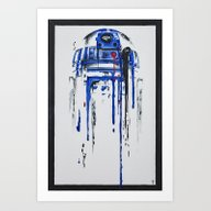 Art Print featuring A Blue Hope 2 by SMAFO