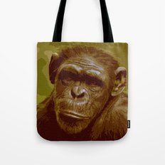 camo monkey! Tote Bag