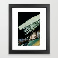 Rollover Framed Art Print