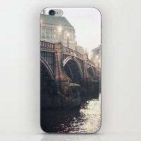Evening Bridge iPhone & iPod Skin