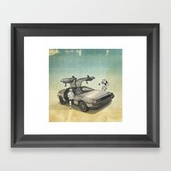 Lost, Searching For The … Framed Art Print