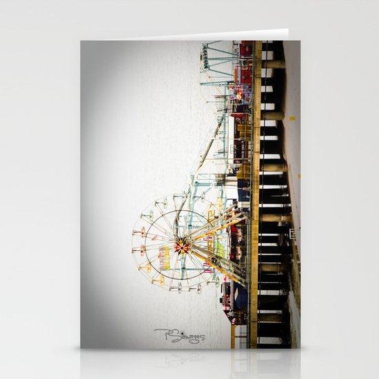 Steel Pier Stationery Card