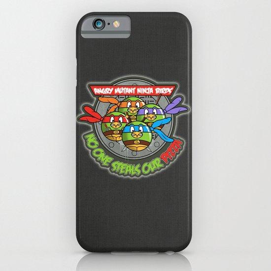 Angry Mutant Ninja Birds iPhone & iPod Case