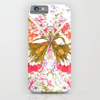 PAINTED BUTTERFLY iPhone 6 Slim Case