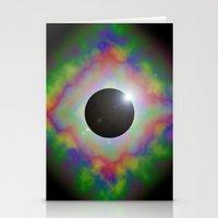 Eclipsed Eye Stationery Cards