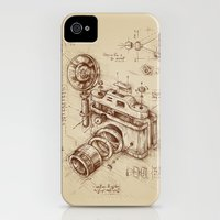 iPhone 4s & iPhone 4 Cases featuring Moment Catcher by Enkel Dika