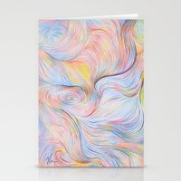 Wind I - Colored Pencil Stationery Cards