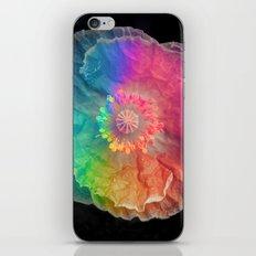 Rainbow Corn Poppy iPhone & iPod Skin