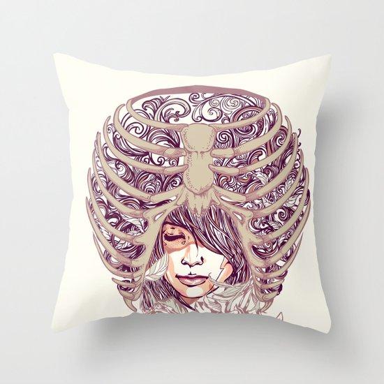 Your Bone Throw Pillow