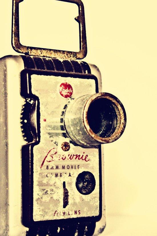 Brownie 8mm #2 Art Print
