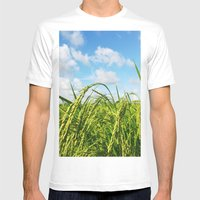 Ripe Rice Mens Fitted Tee White SMALL
